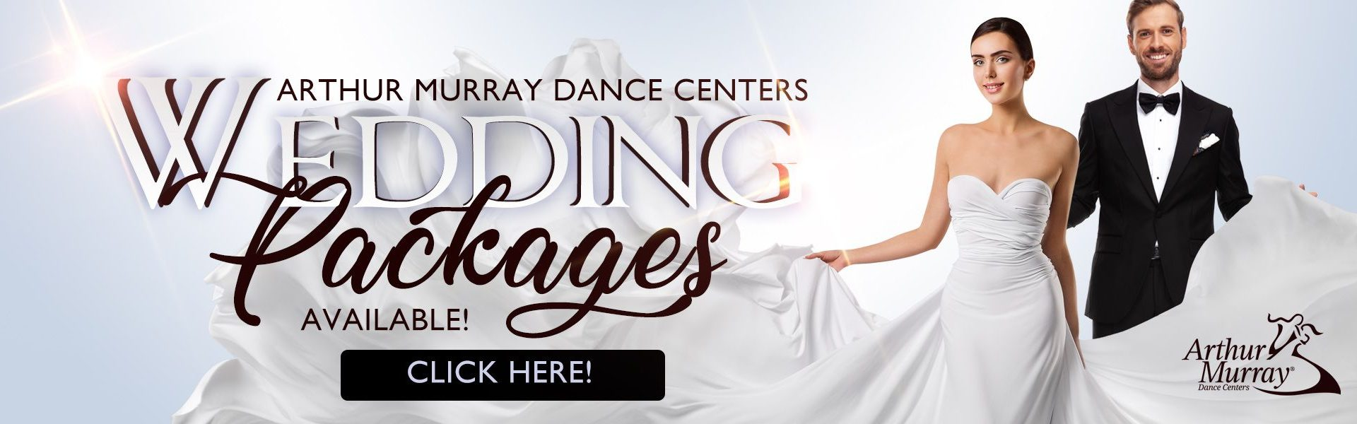 Arthur Murray Wedding Dance Packages Banner